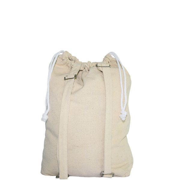 Rucksack aus Baumwoll-Canvas werbeartikel