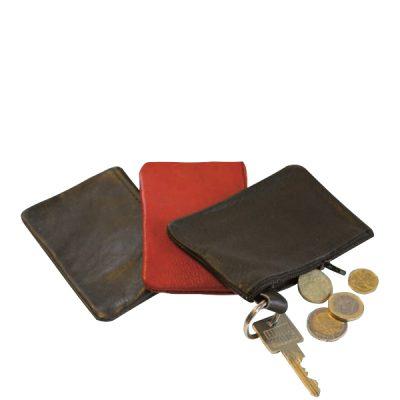 Echtlederschlüsseltasche werbeartikel