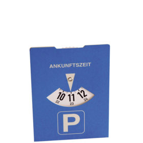 Karton-Parkscheibe werbeartikel
