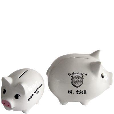 Porzellan-Sparschwein