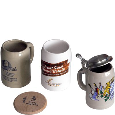 Keramik-Bierkrug