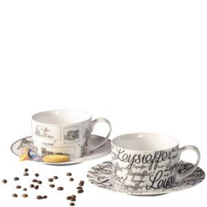 Milch-Kaffee-Tasse