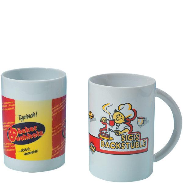 Kaffeetasse aus Porzellan