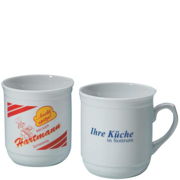 Kaffee-Porzellantasse